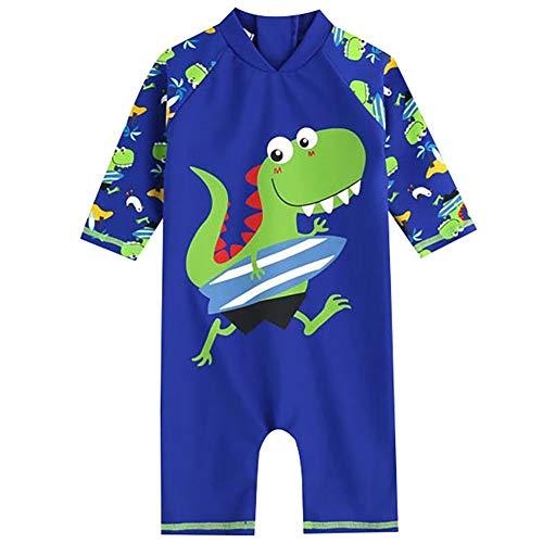 LIUONEXI Baby Jungen Bademode Onepiece Rashguard Swimwear Einteilig Schwimmanzug Schwimmbekleidung UV Schutz