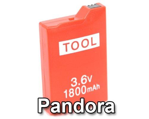 Slimline Max Power Service Tool Battery von Datel für PSP / PSP Slim (Pandora Akku)