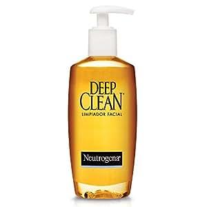 Neutrogena Lotion nettoyante pour le visage Deep Clean - Nettoyage en profondeur - Peau normale à grasse - 200 ml