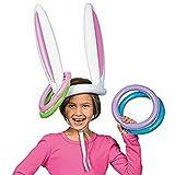 Inflable De Pascua Orejas De Conejo Anillo De Conejo Sombrero De Lanzamiento De Juegos De Sociedad Por La Diversion