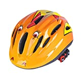 VORCOOL Kids Children Cycling Helmet Bike Helmet Headguard Protective Harnesses Cap Cycling Skating Scooting 53-58cm (Orange)