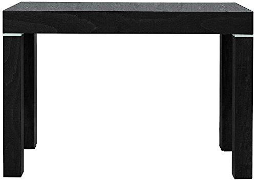 Eglemtek tavolo consolle legno nobilitato wengé 90x300cm mod paris