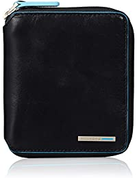 Blue Square Leather Wallet B2