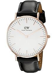 Daniel Wellington Damen-Armbanduhr Analog Quarz Leder DW00100036