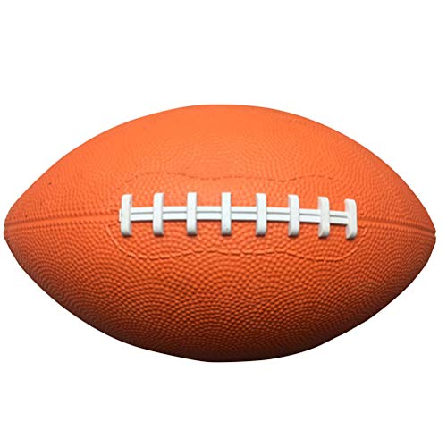 Amosfun Amercian Football Soft Touch Rugby Fußball Team Sport Fußball 9 Zoll für Kinder Party Favor Spielzeug - Super Bowl Dekoration Fußball Party Supplies