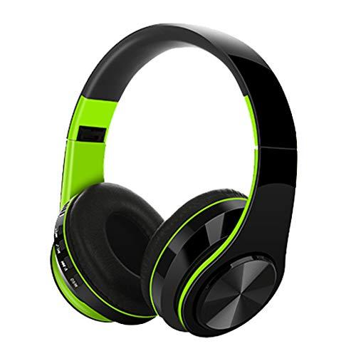 Auriculares Bluetooth Für Den Außenbereich, Webla, Auriculares Für Den Außenbereich, Supra-Aural Earmuff, Abs + Silicona Verde (Gn) (Wiederaufladbare Rock Crawler)