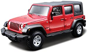 Bburago B18-45121 Jeep Wrangler Unlimited Rubicon - Kit de Modelo, Escala 1:32