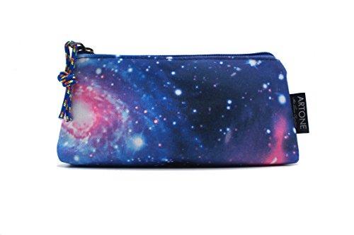 Artone Gran Capacidad Universo Galaxia Estuche Bolso De La Pluma Pounch