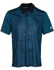 Adidas Mens Climachill Dot Camo Polo Shirt