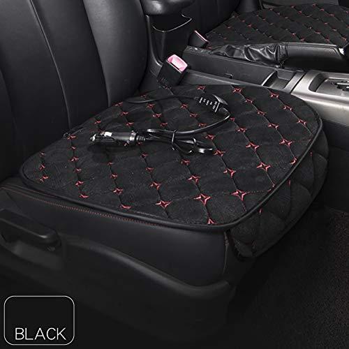 tofree Autositzkissen Heizkissen für den Winter, 12 V schwarz Schwarz