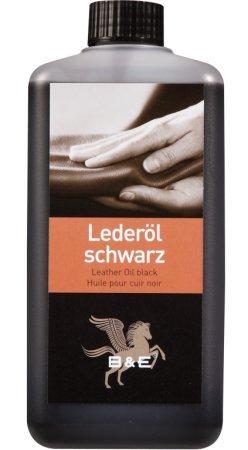 B & E Lederöl - schwarz - 1000 ml