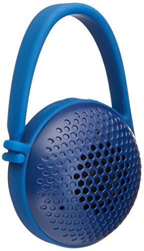 AmazonBasics Ultra-Portable Nano Bluetooth Speakers (Blue)