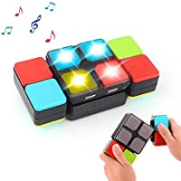 Rubik Magic Cube Electronic Music Cube Novelty Puzzle Game for Teens Kids