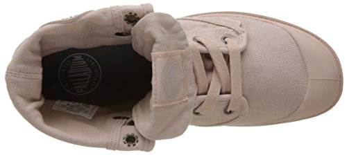 Palladium  Pallabrouse Baggy, Hohe Sneakers femme Rose (Rose Dust/silver Birch)