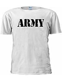NisabellaLTD Army Military US British Surplus Combat Unisex T Shirt Top Men Women Ladies