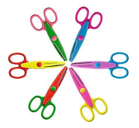 Loisirs Creatifs Scrapbooking - Ciseaux a cranter Kit 6 Creative Gadget