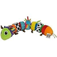 """Lamaze """"Softes Raupenpuzzle"""" Babyspielzeug zur Förderung der motorischen Fähigkeiten / Buntes Lernspielzeug aus mehreren Elementen zum Heranführen an Farben / Ab 6 Monate"""