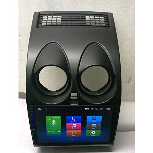 Dishykooker - Radio de Coche para Nissan Qashqai Multimedia 2008-2014 4G 32G Contorl BT Navigator (Color Negro)