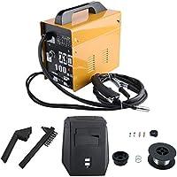 Máquina de soldadura con blindaje de gas MIG100 Máquina de soldadura eléctrica profesional Equipo de soldadura