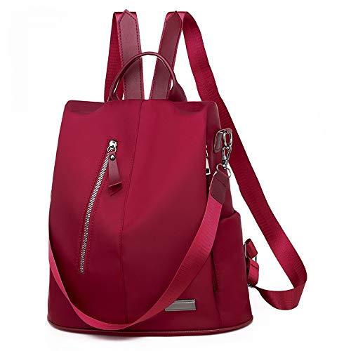 WFire Damen Kleinen Rucksack Umhängetasche Handtasche Mädchen Schulrucksäcke Casual Daypack PU Leder Rucksäcke Reise Schultasche (Rucksack Verkauf Kipling)