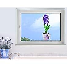 40cm x 28cm Klebefieber Fenstersticker Sonnen-Set B x H