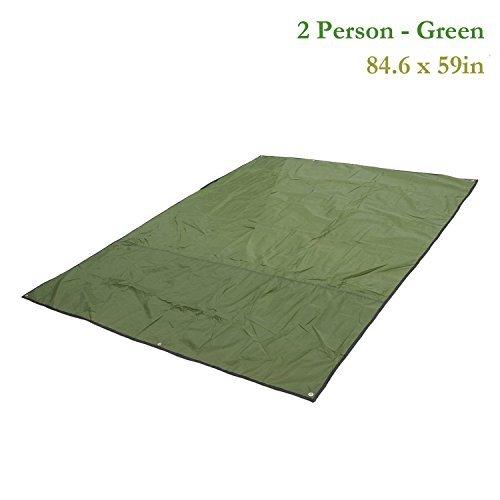 yahill® Outdoor Camping Shelter aus Verdickte Oxford Stoff für Zelt Plane, Verdeck, Zelt Bodenplane, Camping Decke Matte, 2 Person