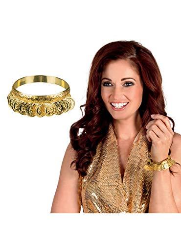 Boland BOL64462 Armband Odalisca vergoldet für Erwachsene