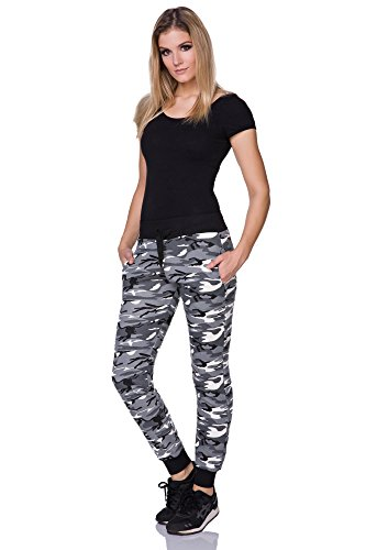 FUTURO-FASHION-Ladies-Casual-Army-Military-Camouflage-Jogging-Pants-Full-Length-Running-Bottoms-Joggers-FZ127