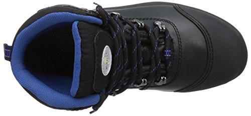 Wortec - Scarpe antinfortunistiche Rocky S3, Unisex - adulto Nero (Schwarz (schwarz/blau))