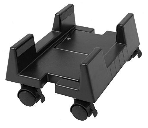Gummiprodukt MB923 - PC Computerwagen verstellbar (schwarz)