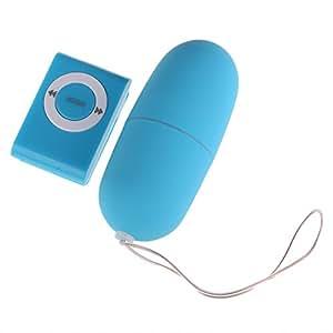 VKTECH® Oeufs vibrants Sans fils Télécommande 20 vitesse Super Silencieux Range 10 mètres oeuf vibrant avec fil