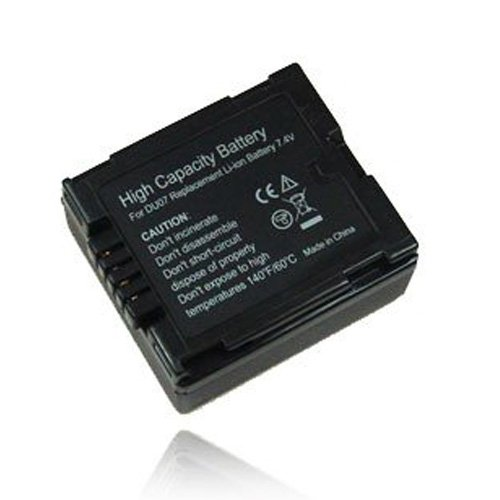 Gs500 Camcorder (weltatec Qualitätsakku Akku Accu Camcorder kompatibel mit Panasonic NV-GS500 Camcorder - Hochleistungsakku Li-ion Akku Ersatzakku Camcorder-Akku - (nur Original weltatec mit Hologramm))