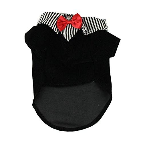Hmeng Haustier-Hundeshirt Welpen-warme Kleidung-Strickjacke-Kostüm-Jacken-Mantel (L, (Dama Medicale Kostüm)