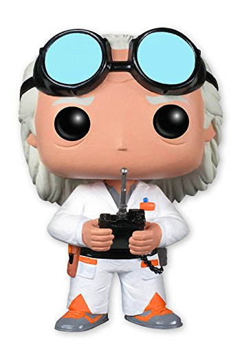 Figura Back to the Future Pop Movies Vinyl Dr Emmet Brown 0cm x 9cm
