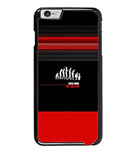 PrintDhaba Evolution D-5636 Back Case Cover for APPLE IPHONE 6 PLUS (Multi-Coloured)