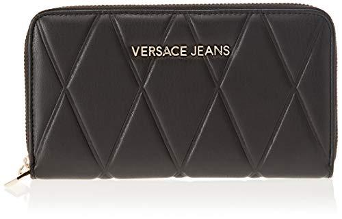 Versace Jeans Damen Ee3vsbpl1 Geldbörse, Schwarz (Nero), 1.5x10.5x19 centimeters