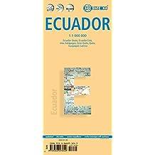 Ecuador 1 : 1 000 000. Einzelkarten: Ecuador Oeste, Ecuador Este, Islas Galapagos, Gran Quito, Guenca, Guayaquil