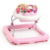Bright Starts - Andador con electronics, color rosa