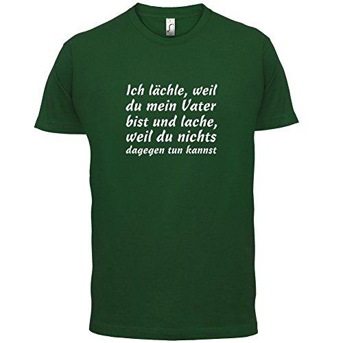 Weil du meiner Vater bist - Herren T-Shirt - 13 Farben Flaschengrün