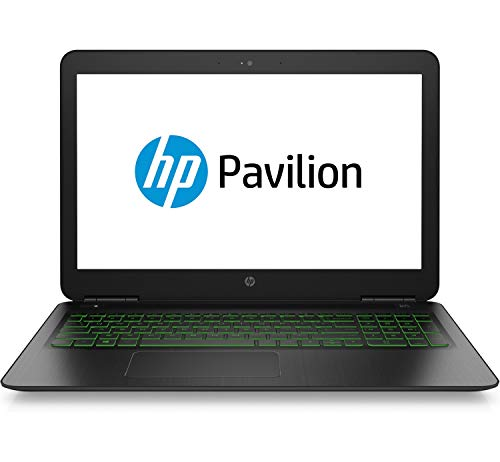 HP Pavilion 15-dp0005ng 39,6 cm (15,6 Zoll Full HD) Notebook (Intel Core i7-8750H, 16GB DDR4 RAM, 1TB HDD, 128GB SSD, Nvidia GeForce GTX 1060 6GB, Windows 10 Home) schwarz - 3 Gb 15.6 Dvd