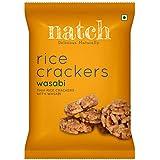 Natch Rice Crackers (Wasabi), 5 x 25 g