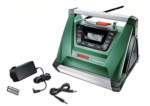 Bosch Radio de chantier sans fil PRA Multipower avec Bluetooth 06039A9000
