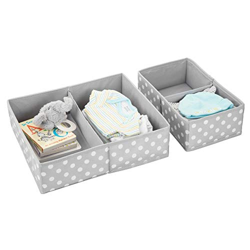 MDesign Juego 2 cajas guardar ropa - Práctico organizador