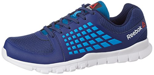 23. Reebok Men's Electrify Speed Club Blue, Cycle Blue and Wht Running Shoes