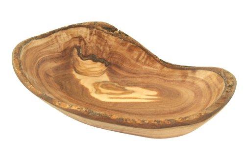 D.O.M. Schale oval rustikal Größe 1 aus Olivenholz Ovale Schale