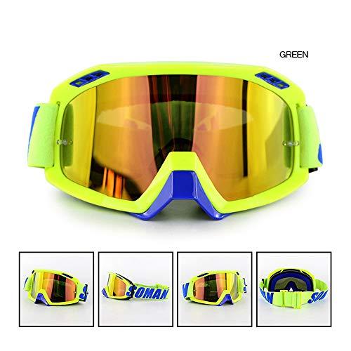 AMZ BCS Ski Sport Sonnenbrillen Motorradbrillen Geländewagen Racing Schutzbrillen UV-Schutzbrillen Für Harley Davidson/Victory / Kawasaki/Yamaha / Suzuki/Honda / Triumph/BMW