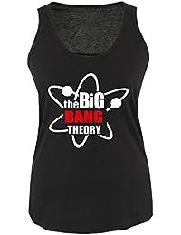 THE BIG BANG THEORY - LOGO - Damen Tank Top Shirt Gr. S bis XL Versch. Farben
