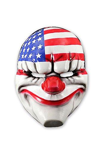 Close Up Payday 2 Maske Dallas aus Vinyl für Erwachsene
