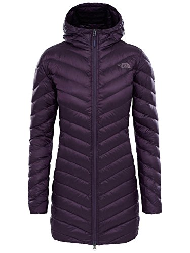 970dec478e The North Face Trevail Parka Veste Femme, Dark Eggplant Purple, x Large