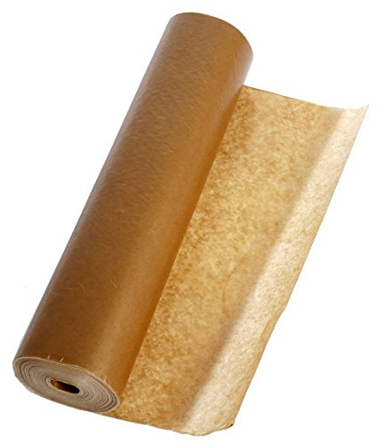 Ölpapier / Paraffinpapier, fett- und wasserabweisend, 1-seitig glatt, 60 g/m², 33,3 cm x 100 lfd. m - Packhilfsmittel